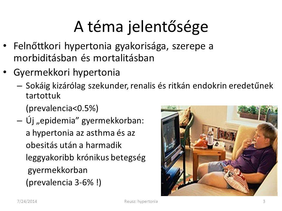 hipertónia kezelése gyermekeknél ajánlások magas vérnyomás és magnézium b6