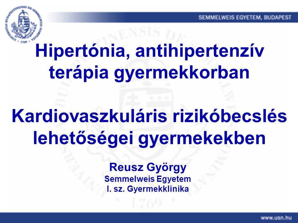 hipertónia kezelése gyermekeknél ajánlások a szem vörössége magas vérnyomással