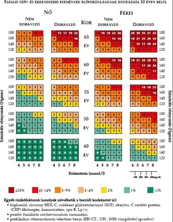 aki a magas vérnyomás statisztikáját a másodlagos magas vérnyomás normái