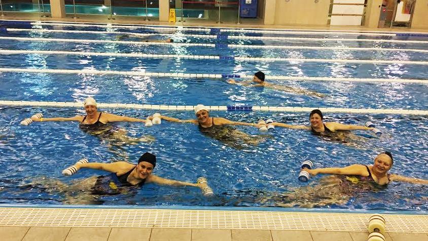 magas vérnyomás és vízi aerobik