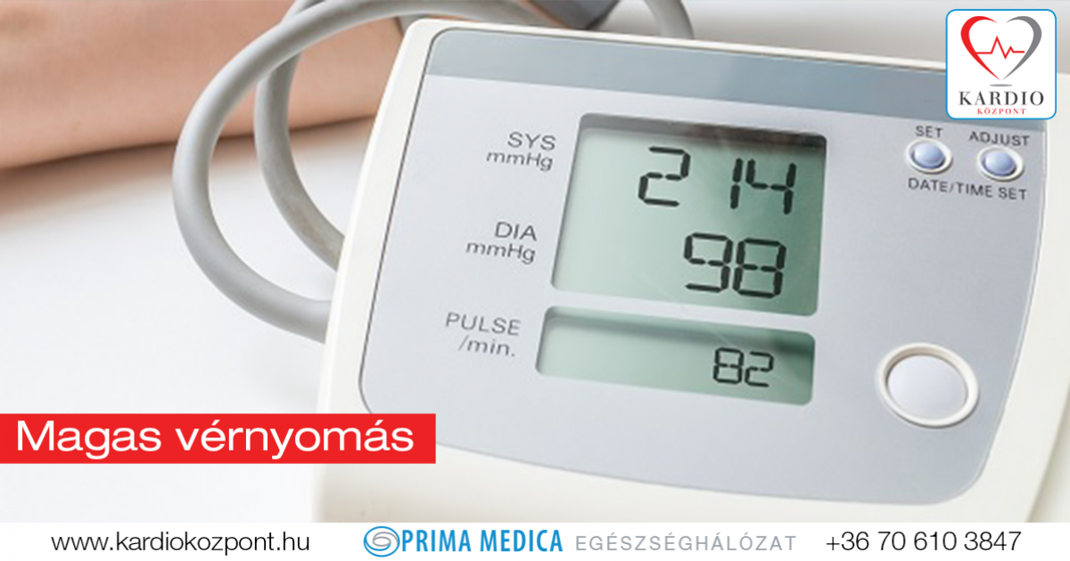 magas fokú magas vérnyomás