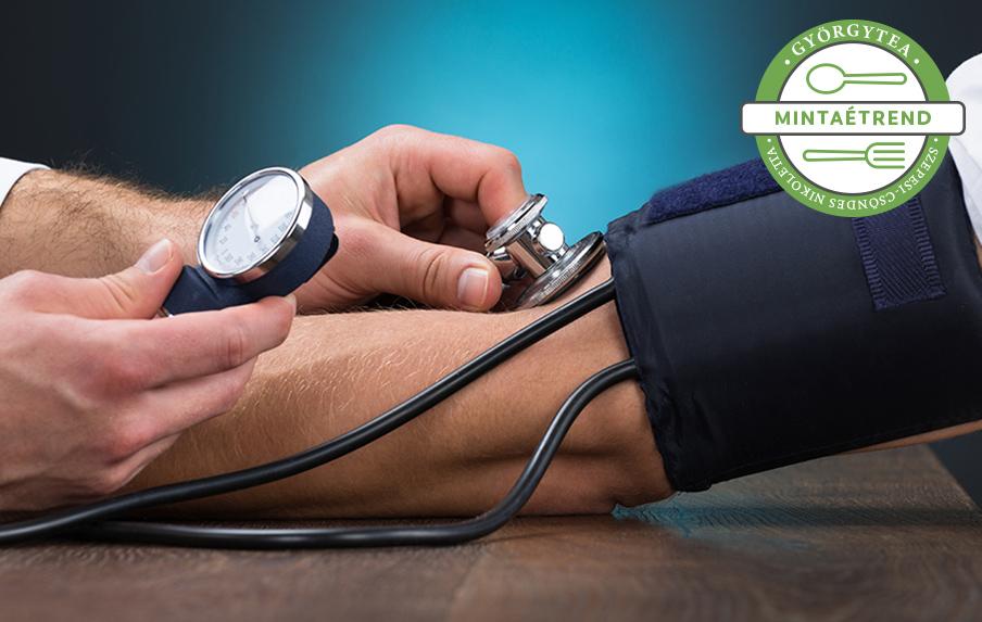 terápiás lehelet magas vérnyomás esetén