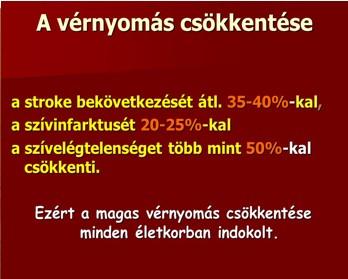 a magas vérnyomás ambulanciájának normái
