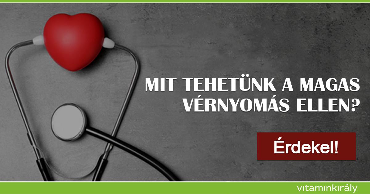 vitaminok magas vérnyomás esetén 3 fok alacsony pulzusszám magas vérnyomás kezeléssel