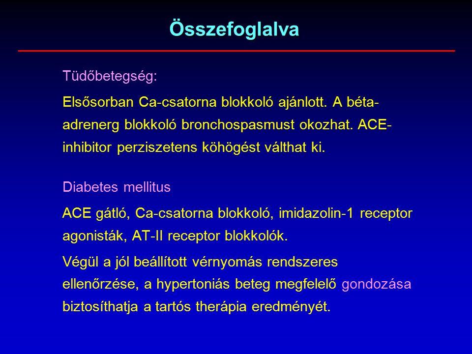 béta adrenerg blokkolók magas vérnyomás ellen