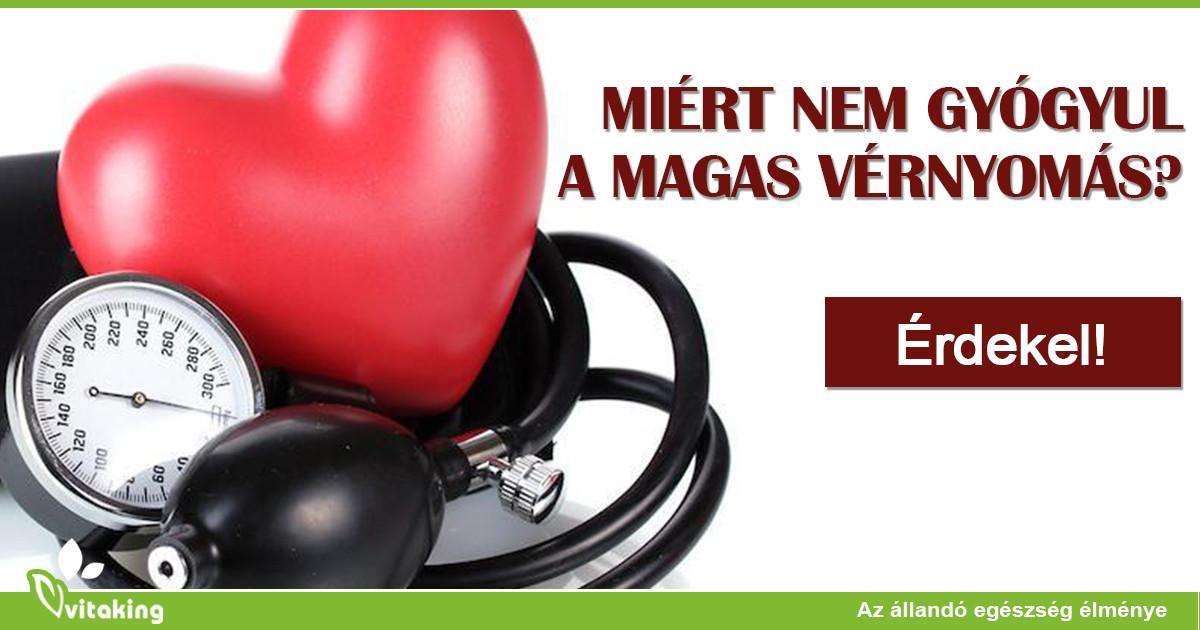 hogyan gyógyul meg a magas vérnyomás