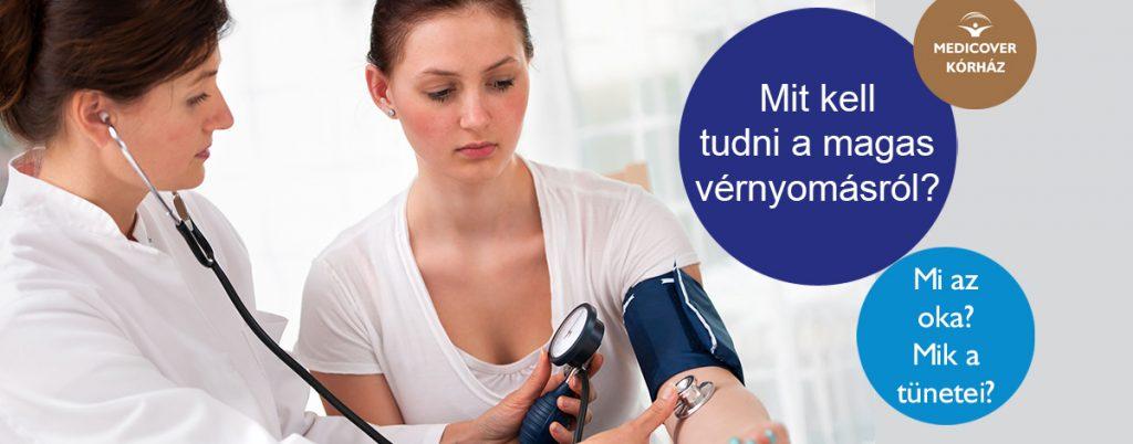 magas vérnyomás és mióma