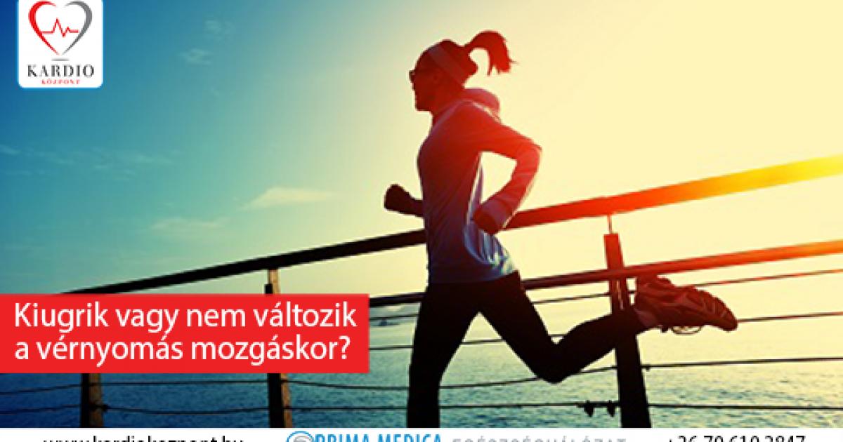 magas vérnyomás sportolás közben hipertónia helyét kezeljük