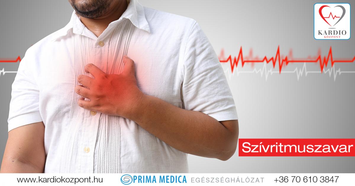 magas vérnyomás tachycardia kezelése
