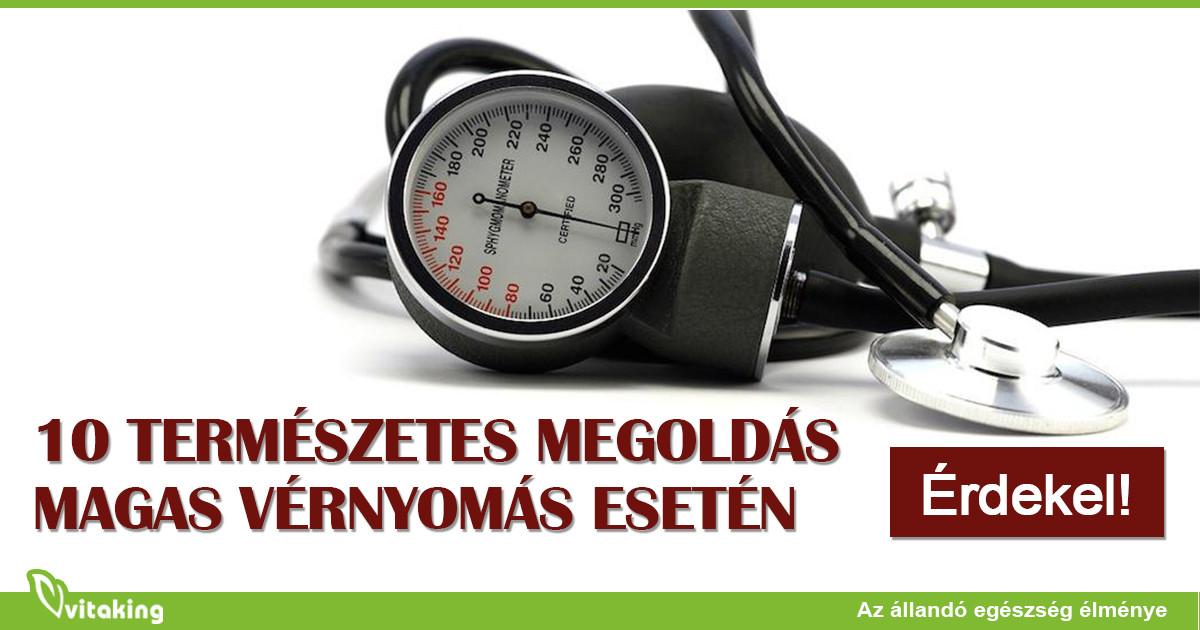 Diéta a magas vérnyomás táblázathoz 10