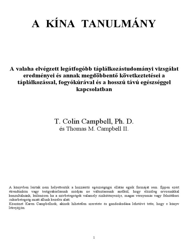 monográfia a magas vérnyomásról