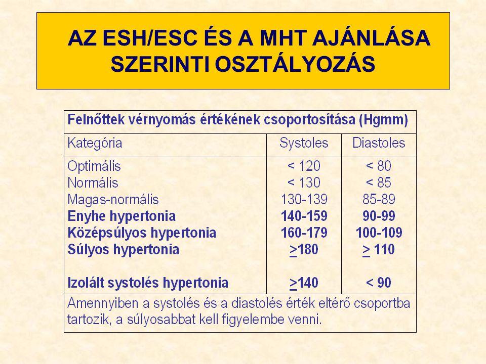 a hipertónia kockázatainak osztályozása duzzanat a szem alatt magas vérnyomás
