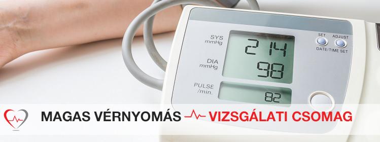 magas vérnyomás orvosi ellátása