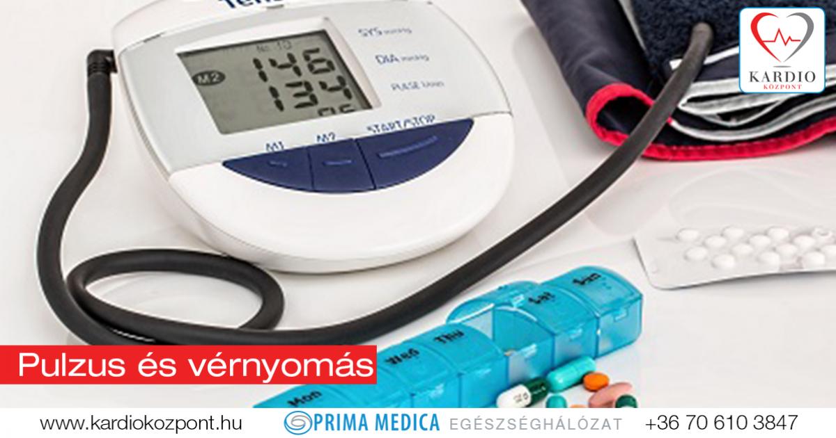 mi a pulzus a magas vérnyomásban