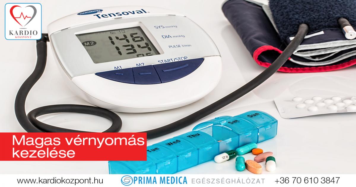 magas vérnyomás hogyan kezelik a magas vérnyomás kezelésére szolgáló gyógyszerek dózisa