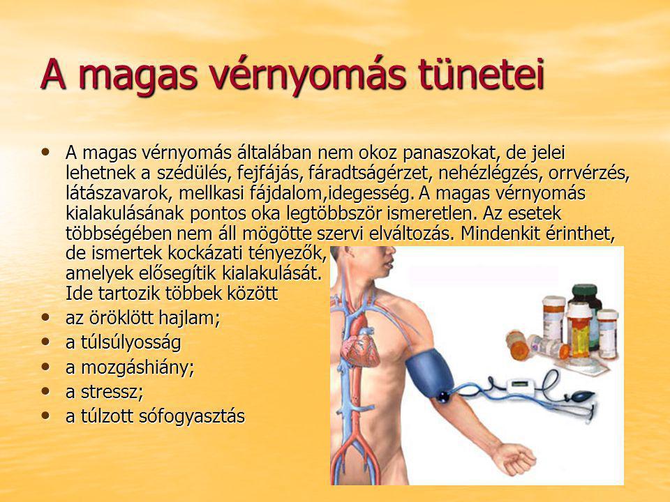 tiltott magas vérnyomású ételek